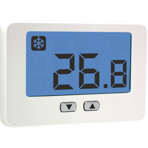 Wired Thalos Key Thermostat (with batteries)
